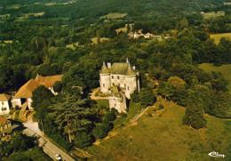 D46 MONTCLERA  Vue Aérienne : Le Château - Frankreich