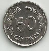 Ecuador 50 Centavos 1963. - Ecuador
