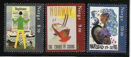 2003 Norwegen    Mi. 1479-81**MNH  Europa: Plakatkunst. - Europa-CEPT