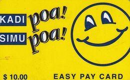 TANZANIA - Blue Smiling Sun, Mobitel Prepaid Card $10, Exp.date 01/01/02, Used - Tanzania