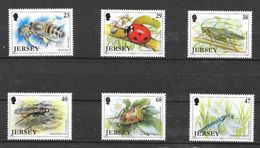 Jersey 2002 MiNr. 1034 - 1039 Insects I Bees Bugs Beetles Dragonflies 6v MNH** 9.00 € - Jersey