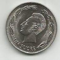 Ecuador 1 Sucre 1988. - Ecuador