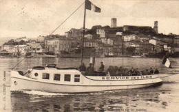 D06 CANNES Service Des Iles De Lérins Par Les Vedettes St Hilaire Et Cauchoise - Cannes