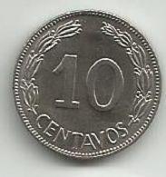 Ecuador 10 Centavos 1968. - Ecuador