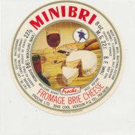 Y 395 /   - ETIQUETTE DE FROMAGE -  BRIE - MINIBRI   FROCHE - Käse