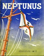 Vijf Boekjes Neptunus, Marine Tijdschrift 1958 - 1959. Tweetalige - Oorlog - Force Navale - Zeemacht - Revues & Journaux