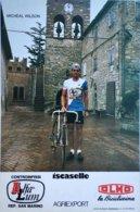 Postcard Michael Wilson - Alfa Lum-Olmo - 1984 - Cycling