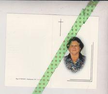 Suzanne Bovijn-D'Haenens, Nederename 1928, Oudenaarde 2001 - Décès