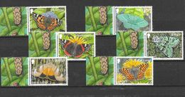 Jersey 2012 MiNr. 1634 - 1642 Butterflies IV  Insects 6v MNH** 13,50 € - Jersey