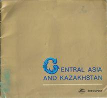 CENTRAL  ASIA  KAZAKHSTAN   INTOTURIST-- 1960  RARO - Kazakistan