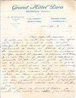 1933 - Grand Hôtel Para - Bédarieux (Hérault) J. CAMOUS, Propriétaire  Téléphone 0-82 - 1900 – 1949