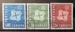 Portugal 1961 / Yvert N°888-890 / Used / Europa - 1910-... Republik