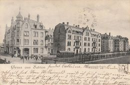 Gruss Aus Sablon - Beamtenkolonie - Rare - F. Baser - Metz