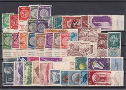 Israel 1948 To 1953 - Lot Used - Israël