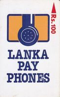 SRI LANKA(GPT) - Lanka Payphones Logo, CN : 13SRLA/B(normal 0), Used - Sri Lanka (Ceylon)
