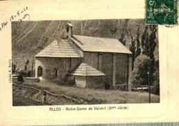 04  - ALLOS - Notre Dame De Valvert - France