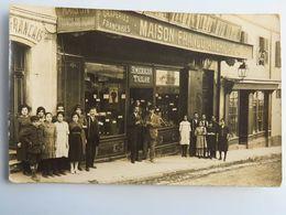 """C. P. A. : Magasin Non Situé (Paris?) """"Maison Franco-Américaine"""", Draperies Françaises Et Anglaises, American Tailor - Magasins"""