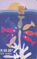 MAURITIUS ISL. - Painting 3, Chip GEM3.3,  Tirage %30000, 06/00, Used - Maurice