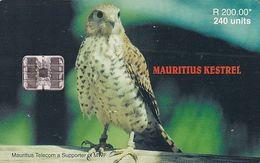 MAURITIUS ISL. - Mauritius Kestrel, Tirage 40000, 05/00, Used - Mauritius