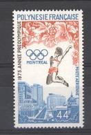 Polynésie  -  1975  -  Avion  :  Yv  96  ** - Poste Aérienne