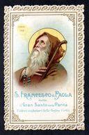 Santino Merlettato/canivet: S. FRANCESCO DI PAOLA - E - PR - Mm. 70 X 110 - Religione & Esoterismo