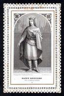 Santino Merlettato/canivet: S. EDOARDO RE - E - BR - Ed. Bonamy - Nr. 54 - Mm.72 X 112 - Religion & Esotérisme