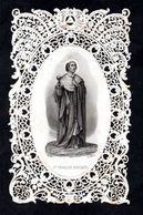 Santino Merlettato/canivet: S. CARLO BORROMEO - E - PR - Ed. Dopter - Rn.178 - Mm. 62 X 100 - Religione & Esoterismo