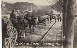 RP: War 1914-18 ; La Fuite Des Boches , Luxembourg , 1918 - Luxembourg - Ville