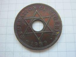 Nigeria , 1 Penny 1959 - Nigeria