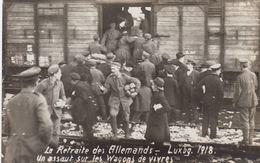 RP: War 1914-18 ; La Retraite Des Allemands , Luxembourg , 1918 - Luxembourg - Ville