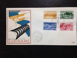 Suriname, Uncirculated FDC, « Brokopondo Project  », 1965 - Surinam