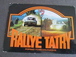 RALLYE TATRY, POPRAD 1978 - Repubblica Ceca
