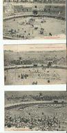 BEZIERS  3 CARTES GRAND CONCOURS DE GYMNASTIQUE 1904 - Beziers