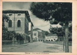 Oderzo Via Gabriele D'Annunzio 1942 - Treviso