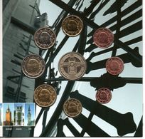 Belgien 2008, KMS FDC Original-Blister Mit Medaille - Euro - FDC