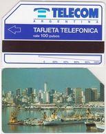 3/ Argentina; Urmet, P2. Buenos Aires Harbour - Argentina