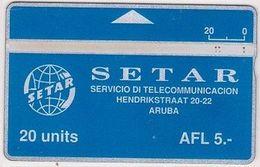 7/ Aruba; P1. Logo Setar, CN 251A - Aruba