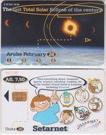 12/ Aruba; P?. Total Solar Eclipse - Aruba