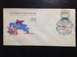 Suriname, Uncirculated  FDC, « Visit Suriname », 1956 - Surinam
