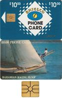 15/ Bahamas; P3. Racing Loop, Gold CN, Chip GEM 1B.1, No Transparent Logo - Bahamas