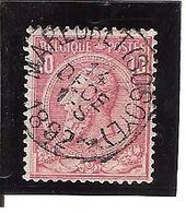 N° 46 . OBL.CENTRALE Maredret (Sosoye) LOT A104 - 1884-1891 Léopold II