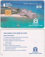 26/ Bermuda; PC2. Fort St. Catherine - Bermude