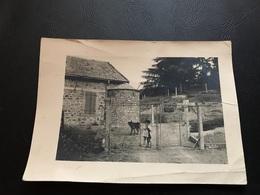 PHOTO ALGERIE TACHETA Maison Forestiere 1956 - Lieux