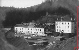 CARTE PHOTO ALLEMANDE  VAL Et CHATILLON 1916  SCIERIE Et CHÂTEAU Du POT DE VIN - Autres Communes