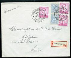 Doc. De FRANCORCHAMPS (touristiques) Du 08/06/65 En Rec. - Marcophilie