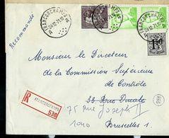 Doc. De FRANCORCHAMPS - A A - Du 24/12/71 En Rec. - Marcophilie