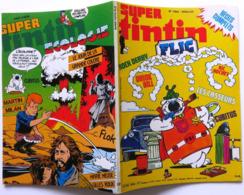 SUPER TINTIN FLIC N° 12 (289bis) Couverture DUPA Cubitus Rock Derby Chick Bill Modeste Casseurs Ernst Walli - Tintin