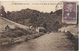 D19 - ESTIVAUX - LA VEZERE ET LA LIGNE DE BRIVE A LIMOGES - France