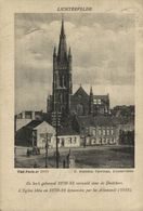 Lichtervelde - De Kerk DOOR DE DUITSERS VERNIELD  BELGE BELGIQUE 1914/15 WWI WWICOLLECTION - Lichtervelde