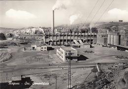 RAGUSA-SOC. CEMENTIFICIO--CARTOLINA VERA FOTOGRAFIA-NON VIAGGIATA-ANNO 1955-1960 - Ragusa